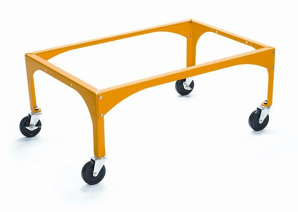 Yellow Evacuation Frame For Adj Amp Drop Side Cribs