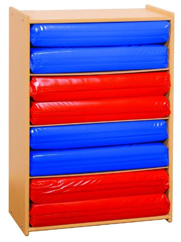 Angeles Value Line 4 Section Rest Mat Storage Child Care