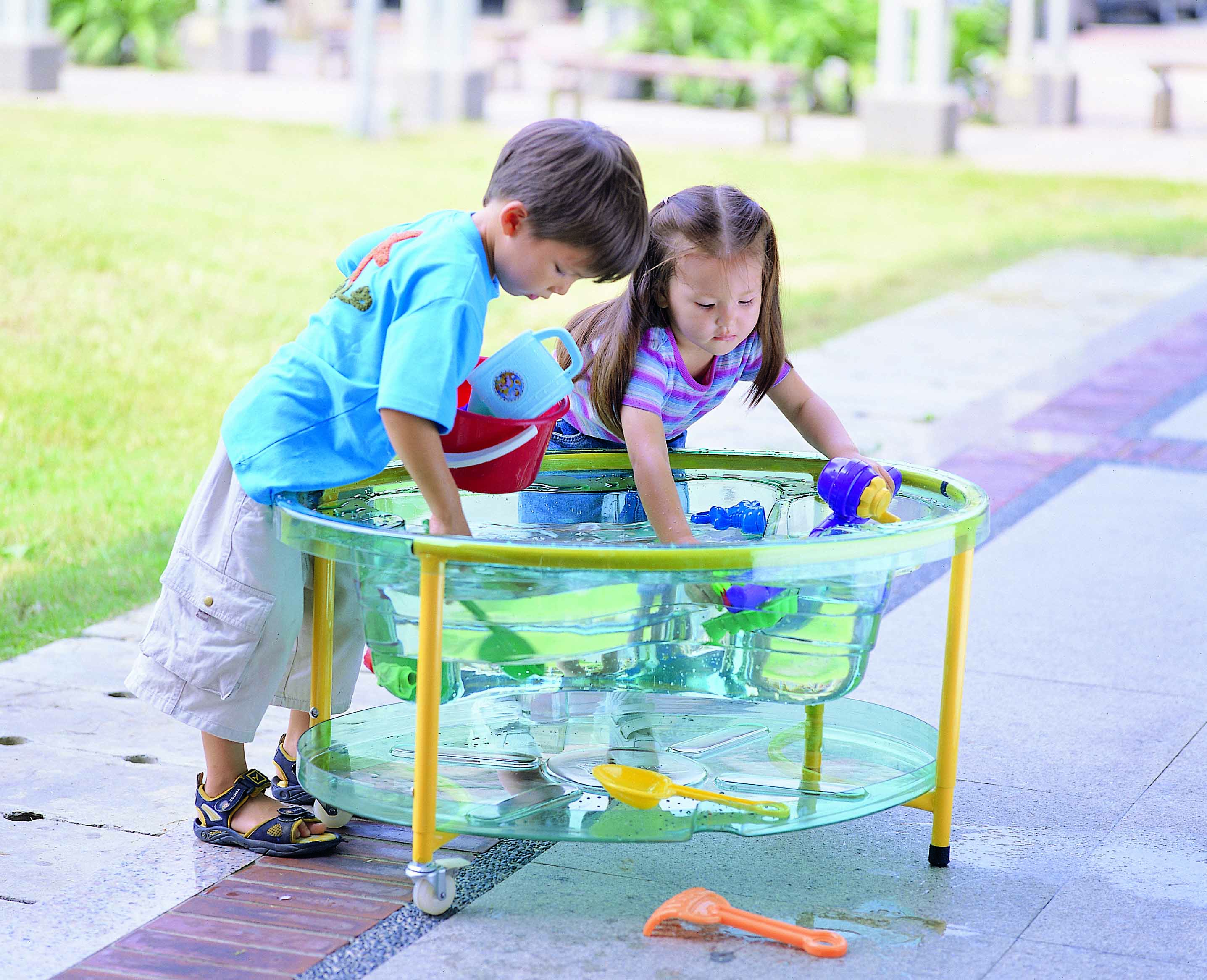 Clear Sand and Water Table childcare supply