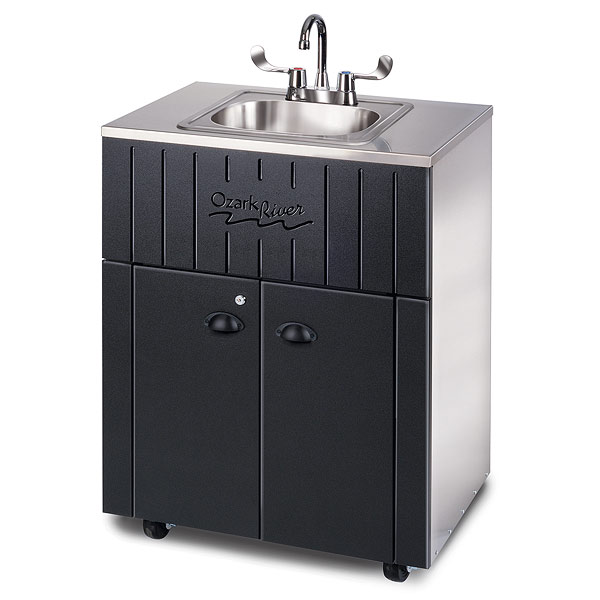 Ozark River 174 Outdoor Portable Hot Water Sink With