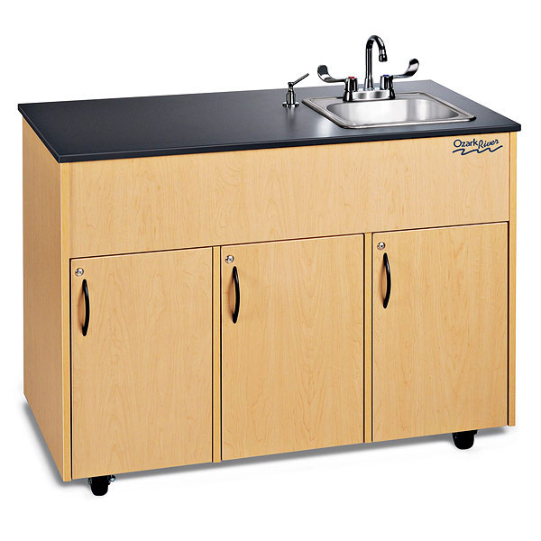 Ozark River®Advantage Portable Sink Single Stainless Steel ...