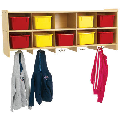 Value Line 10 Section Wall Locker Excellent4kids